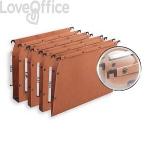Cartelle sospese per armadio ELBA Ultimate interasse 33 cm arancione fondo V Conf. 25 pezzi  100330473