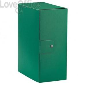Cartelle portaprogetti Esselte C35 EUROBOX 25x35 cm - dorso 15 cm presspan biverniciato verde - 390335180