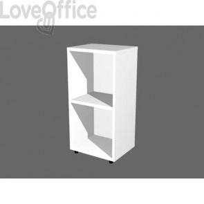 Libreria componibile Artexport Protocollo cm 40 x 81,5h Bianco LB-L40-3