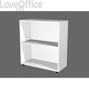 Libreria componibile Artexport Protocollo cm 76 x 81,5h Bianco LB-L76-3