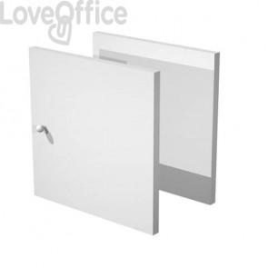 Libreria componibile Artexport Maxicolor - Set 2 antine Grigio alluminio 2A-MaxC-5