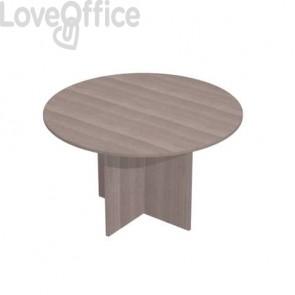 Tavolo riunione rotondo Artexport Presto 120x72h cm. frassino toscano 60121/F