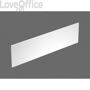 Pannello divisorio + staffe supporto Postazione Open Space Artexport Bridge 180 bianco - PAN-180+BTAA-3