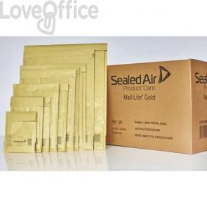 Buste imbottite Mail Lite® Gold B 12x21 cm Avana conf. 100 pezzi - 103027401
