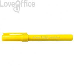 Evidenziatori TRATTO Fluo punta a scalpello 1-5 mm giallo 733001