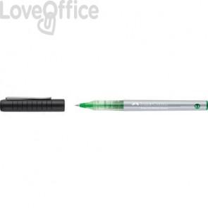 Roller ad inchiostro liquido Faber-Castell 0,5 mm verde 348504