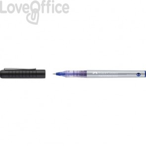 Roller ad inchiostro liquido Faber-Castell 0,5 mm nero 348501