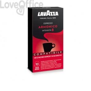 Cialde caffè compatibili Nespresso gusto armonico Conf. 10 cialde - 8102