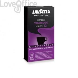 Cialde caffè compatibili Nespresso gusto vigoroso Conf. 10 cialde - 8133