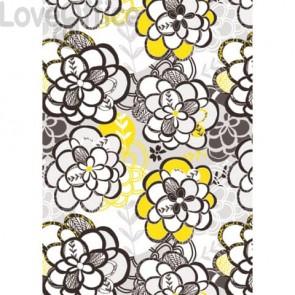 Carta da regalo Kartos Everyday Contemporary 70x100 cm mod. Flower Power Conf. 10 fogli - 18880800B10