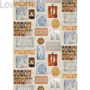 Carta da regalo Kartos Everyday 70x100 cm mod. Stencil Conf. 10 fogli - 18884900B10