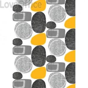 Carta da regalo Kartos Everyday Contemporary 70x100 cm mod. Stones Conf. 10 fogli - 18873200B10