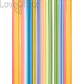 Carta da regalo Kartos Everyday 70x100 cm mod. Righe Colorate Conf. 10 fogli - 18867400B10