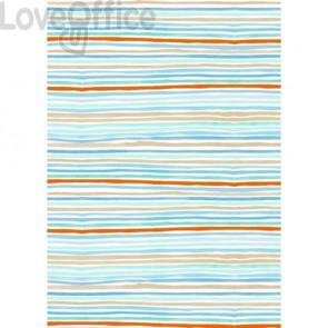 Carta da regalo Kartos Everyday Contemporary 70x100 cm mod. Stripes Conf. 10 fogli - 18872400B10