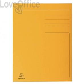 Cartelline a 3 lembi Forever® 24,5x35 cm arancio conf. 50 pezzi - 449009E