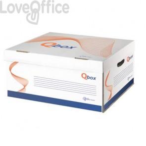 Scatole archivio QBOX bianco  8800.1800