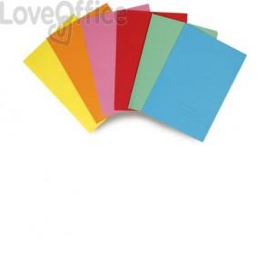 Cartelline semplici A4 EURO-CART Azzurre (conf. 6 pezzi)