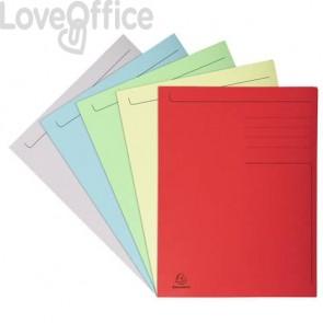 Cartelline a 3 lembi Forever® 24,5x35 cm in 5 colori assortiti conf. 25 pezzi - 449000E