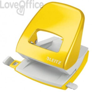 Perforatore 5008 2 fori - 30 fogli Leitz NeXXt Series giallo metallizzato 50081216