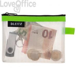Busta per oggetti personali piccoli - Accessori da viaggio Leitz - 14x10,5 cm - Verde lime 40240054