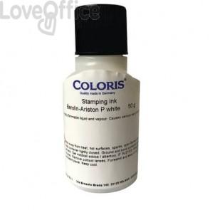 Inchiostro per tessuti Trodat Berolin 50 ml bianco 96192