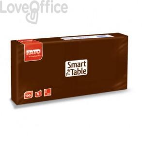 Tovaglioli Fato The Smart Table 25x25 cm cioccolato Conf. 100 pezzi - 82546001
