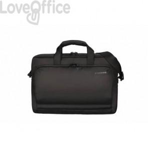 Borsa per laptop Tucano in tessuto fino a 15.6'' nero - BSTN-BK
