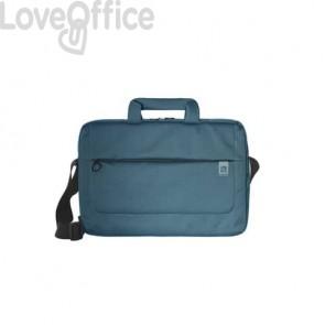 Borsa slim per laptop Tucano Loop in tessuto fino a 13'' azzurro - BSLOOP13-Z