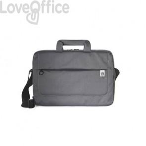 Borsa slim per laptop Tucano Loop in tessuto fino a 15'' nero - BSLOOP15-BK