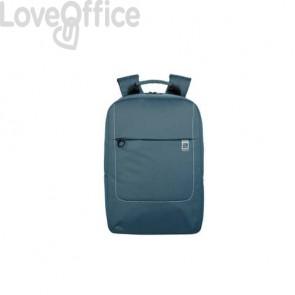 Zaino per laptop Tucano Loop in tessuto fino a 15.6'' azzurro - BKLOOP15-Z