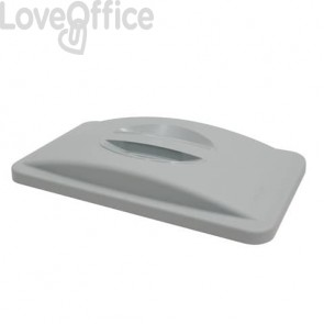 Coperchio Slim Jim con maniglia Rubbermaid GREY FG268888LGRAY