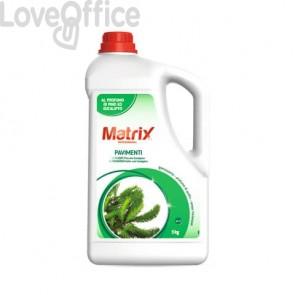 Detergente profumato universale pavimenti Matrix 5 kg XM010