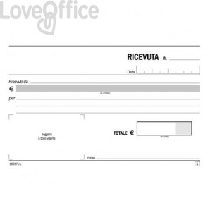 Blocco proposte di commissione flex A4 - 1672C3300 (33x3 copie autoricalcanti)