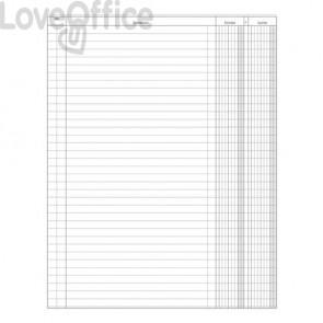 Registro entrate uscite Data Ufficio - 31x24,5 cm DU135800000 (100 pagine)