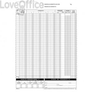 Blocco Registro Corrispettivi primanota dettaglianti Flex 29,7x21,5 cm - 1685120000 (12x2 copie autoricalcanti)