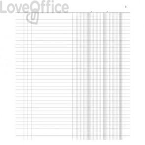 Registro Inventario data ufficio a 3 colonne 31x24,5 cm DU135100000 (96 fogli)