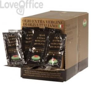 Olio extra vergine di oliva VIANDER n bustine monoporzione da 100 x 10ml #09042