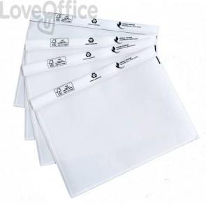 Buste portadocumenti per spedizioni WE PACK 24x18 cm Carbon neutral Trasparente conf. 100 pezzi - 240180100NC