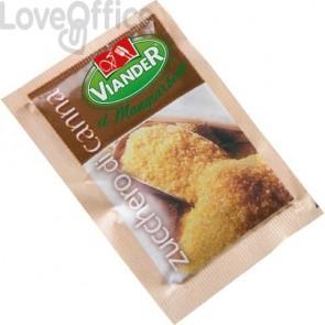 Zucchero di canna in bustine monoporzione Viander - marsupio da 200 x 5 gr - #07034