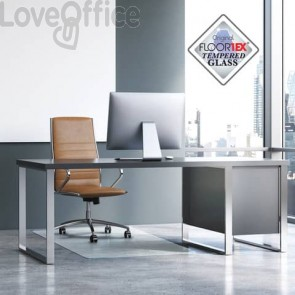 Tappeto protettivo Floortex Trasparente Lucido FC123648EG