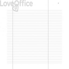 Registro verbali dell'Assemblea dei Soci data ufficio - 31x24,5 cm DU135500000 (96 pagine)