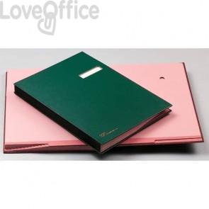 Libro Firma Fraschini blu 614-DB