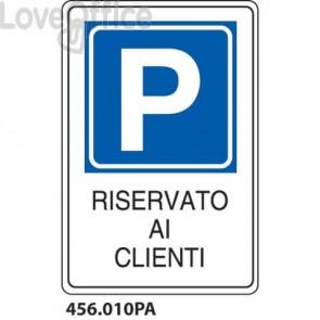 """Cartello """"Riservato ai clienti"""" 456.010PA"""