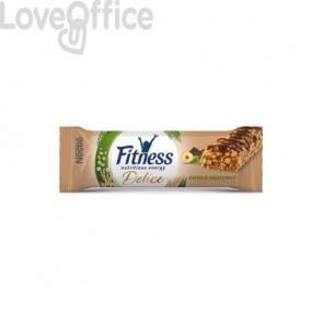 Barrette Fitness Delice Nestlé cioccolato e nocciola Conf. 24 pezzi - 12396466