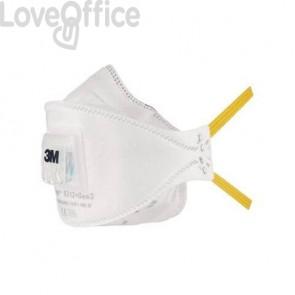 Respiratori a conchiglia con valvola 3M Aura™ bianca FFP1 - 9312+Gen3