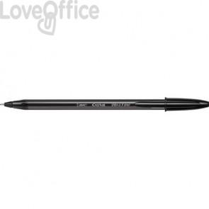 Penne a sfera con cappuccio BIC Cristal® Exact 0,7 mm nero (conf. 20)