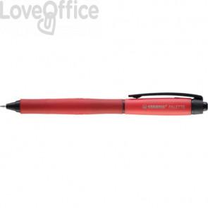 Penna roller a scatto Stabilo Palette tratto F 0,4 mm rosso 268/40-01