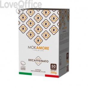 Capsule compatibili Mokamore Lavazza A Modo Mio Decaffeinato conf. 50 pezzi - 03421