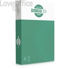 Carta per fotocopie A4 Disco 33 75 g/mq risma da 500 ff - 1104533 (pallet da 240 risme)