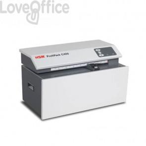 Macchina perfora cartoni HSM Profipack C400 max 10 mm - P-1 bianco - 1528134